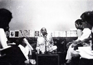 "Srila Prabhupada asked the reporters, ""What is the ultimate goal of life?"""