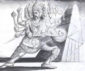 KING RAVANA AND THE STAIRCASE TO HEAVEN