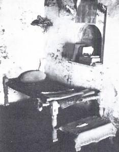 In Srila Prabhupada's room in the Radha-Damodara temple.