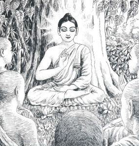 Lord Buddha, sustainer of Krsna consciousness. He concocted voidism as a pretext for nonviolence.
