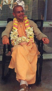Srila Ramesvara Swami, one of the present spiritual masters of the Hare Krsna movement, oversees ISKCON's activities in San Diego and other cities in the western United States