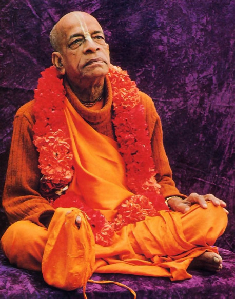 His Divine Grace A. C. Bhaktivedanta Swami Prabhupada, Founder-Acarya of the International Society for Krishna Consciousness, came to America in 1965, at age sixty-nine, to fulfill his spiritual master's request that he teach the science of Krsna consciousness throughout the English-speaking world. In a dozen years he published some seventy volumes of translation and commentary on India's Vedic literature, and these are now standard in universities worldwide. Meanwhile, traveling almost nonstop, Srila Prabhupada molded his international society into a worldwide confederation of asramas, schools, temples, and farm communities. He passed away in 1977 in India's Vrndavana, the place most sacred to Lord Krsna. His disciples are carrying forward the movement he started. Advanced disciples throughout the world have been authorized to serve in the position of spiritual master, initiating disciples of their own. And these disciples in turn, become linked with Srila Prabhupada through the transcendental system of disciplic succession.