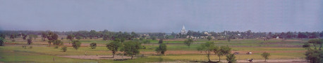 The beautiful Mayapur countryside