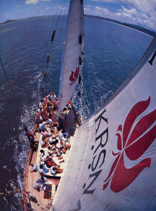 The natural beauty of Hawaii and the excitement of sailing, combined with good company, good food, singing, and swimming, make for an ideal Krsna conscious outing.