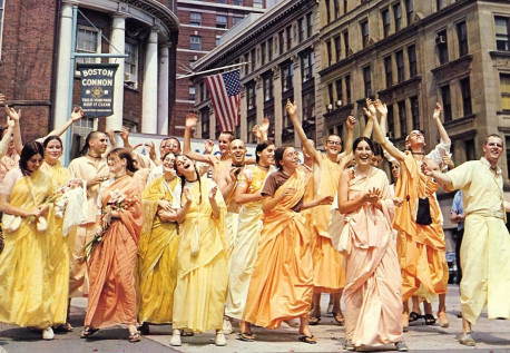 A Day in 1970 At ISKCON Boston