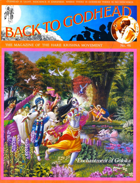 Back To Godhead 46 Cover