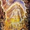 Krishna Reveals His Universal Form at Kuruksetra