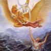 Krishna Rescues His Devotee from the Ocean of Death