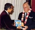 U.S. Senator Gets Srimad-Bhagavatam