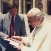 Pope John Paul II Gets Krishna Books