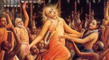 Lord Caitanya at Ratha-yatra Festival in Jagannatha Puri