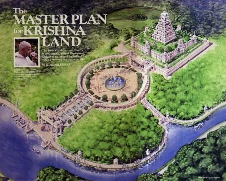 The Master Plan for Krishna Land at New Vrindaban