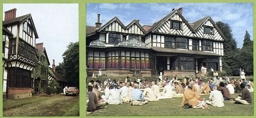 Bhaktivedanta Manor, Lechmore Heath, Watford, England, 1973.