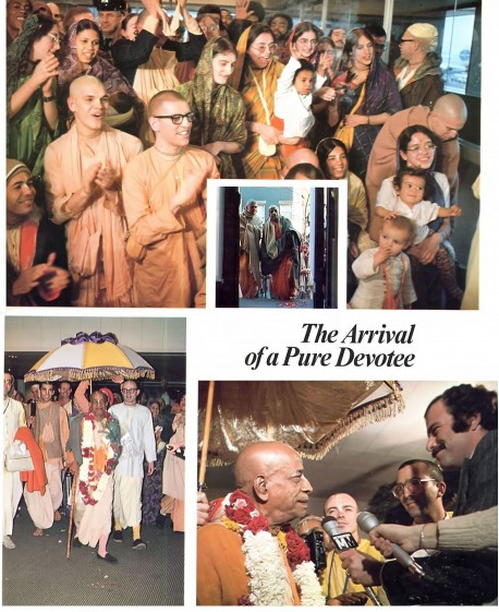 Srila Prabhuapda Arrives in New-York, 1974.