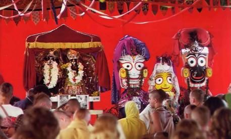 Janmastami 1972 ISKCON New Vrindavan