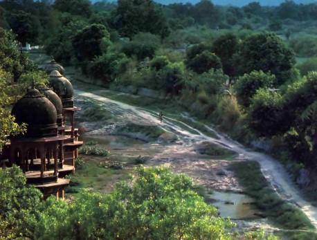 The Vrindavan Parikrama Path -- 1974.