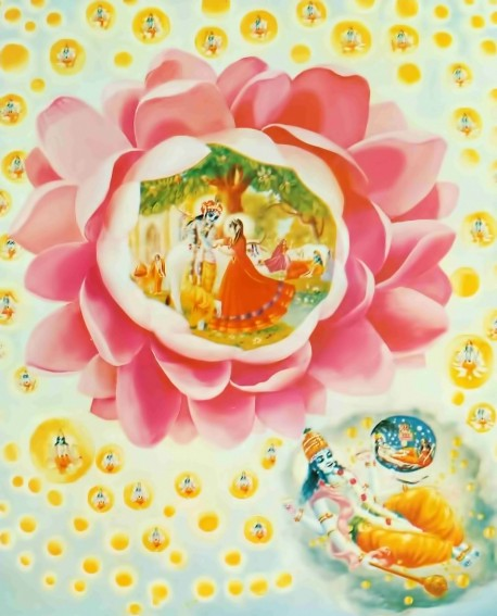 Original Srimad Bhagavatam cover artwork