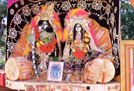 Sri Sri Radha Damodara from Radha Damodara Traveling Sankirtan Party USA 1974