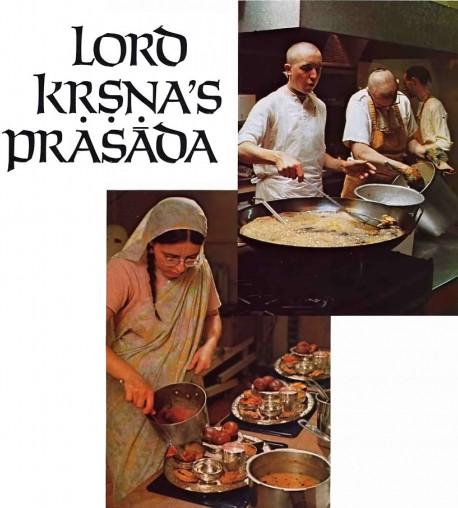 Lord Krishna's Prasadam