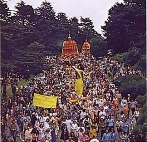 Rathayatra Festival San Fransisco 1975