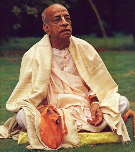 Srila Prabhupada in London. Fulfilling his master's desires.
