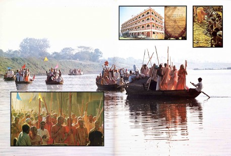 Sridharma Mayapur -- A Holy Pilgrimage by ISKCON devotees. 1975.