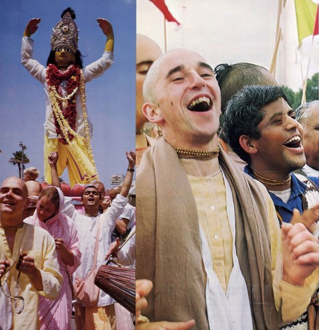 Sankirtana -- ISKCON Devotees Chant Hare Krishna