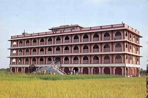 Sridharma Mayapura -- Temple Building