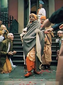 Srila Prabhupada on Tour 1975.