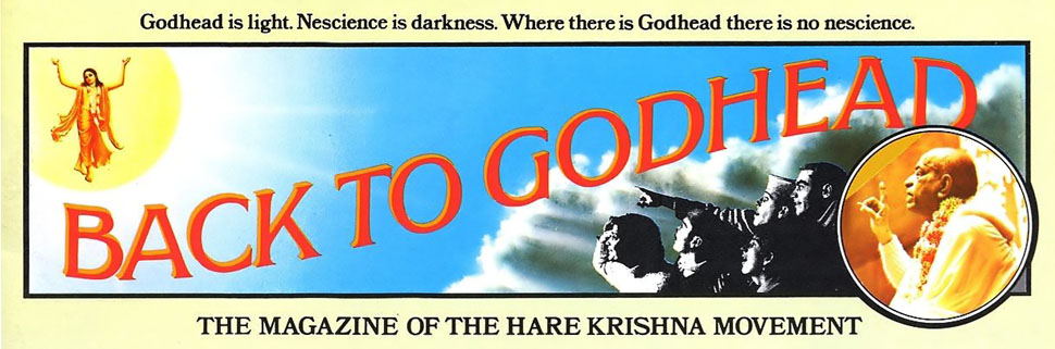 Back to Godhead | Archive | PDF