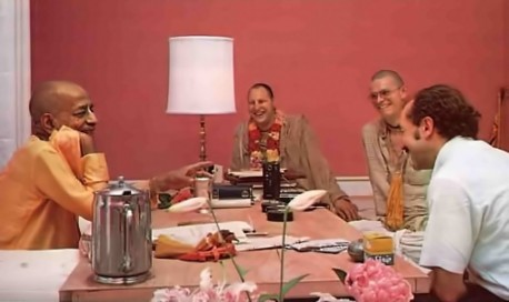 Srila Prabhupada remembers the early days of ISKCON with Professor J. Hopkins of Framklin and Marshall College.