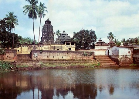The Temple of Sakshi Gopala, Cuttak, India. 1975.
