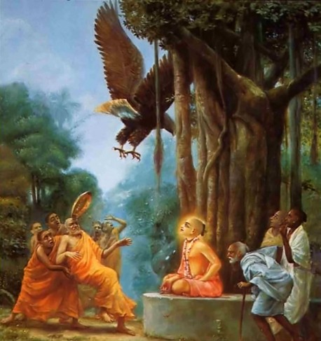 Lord Caitanya -- Defeating the Buddhists