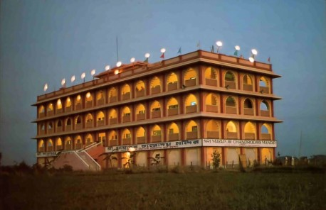 ISKCON's world headquarters in Mayapur, India, 1976.