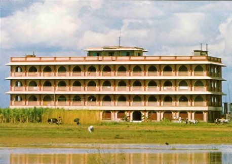 ISKCON's World Headquarters in Sridharna Mayapur, West Bengal , India .