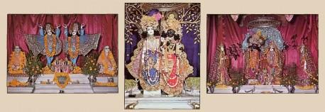 ISKCON Vrindavan Krishna Balaram Mandir Opening Ceremony 1975.