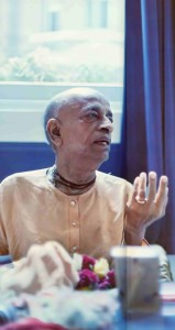Srila Prabhupada preaching on having the Eyes to See God.