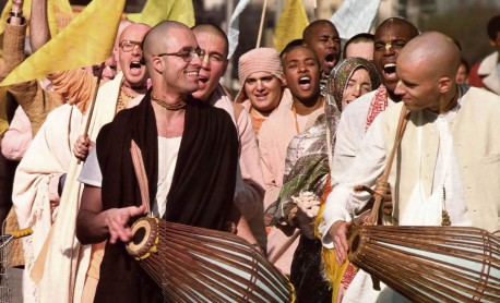 Hare Krishna Devotees Chanting 1976