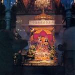 ISKCON New Dwarka, Los Angeles Temple Deities, 1976.