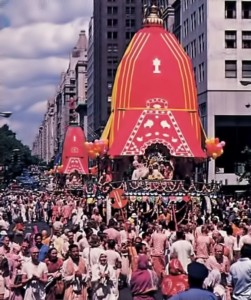 New York City Celebrates the Rathayatra Festival - 1976