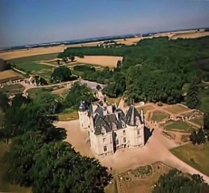 New Mayapur, ISKCON's Farm in France, from the air.