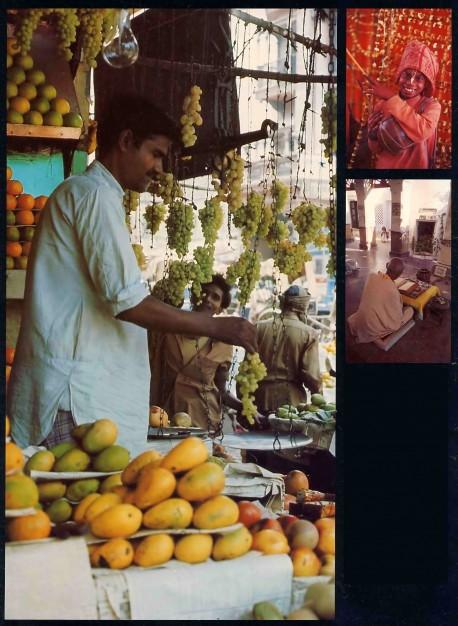 Indian Village Fruit Stall, 1976.