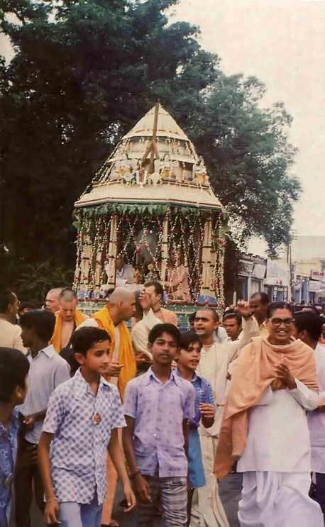 ISKCON Hyderabad 1977 Festival