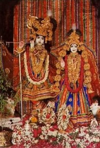 ISKCON Hyderabad 1977 Temple Deities