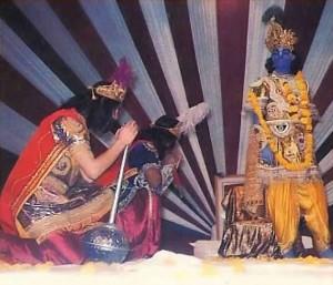 Krishna Play at ISKCON Mayapur Festival - 1977