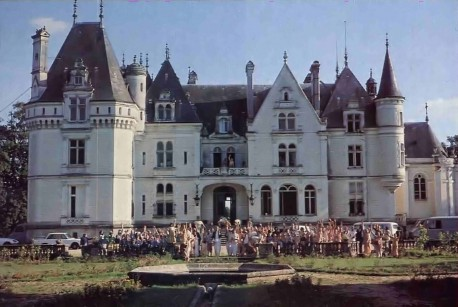 ISKCON New Mayapur, French Farm / Castle. 1977