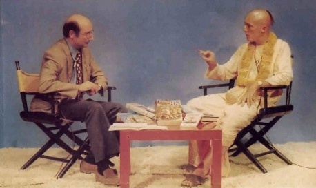 Dhrstadyumna Swami on television interview program - 1977