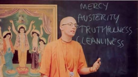 Dhrstadyumna Swami Preaching - 1977