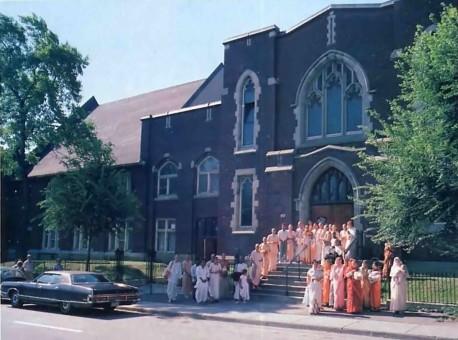 ISKCON's Hare Krishna Temple in Montreal, Quebec -1977
