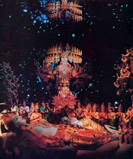 F.A.T.E. (First American Theistic Exhibit) Diorama Exhibit ISKCON Los Angeles - 1977
